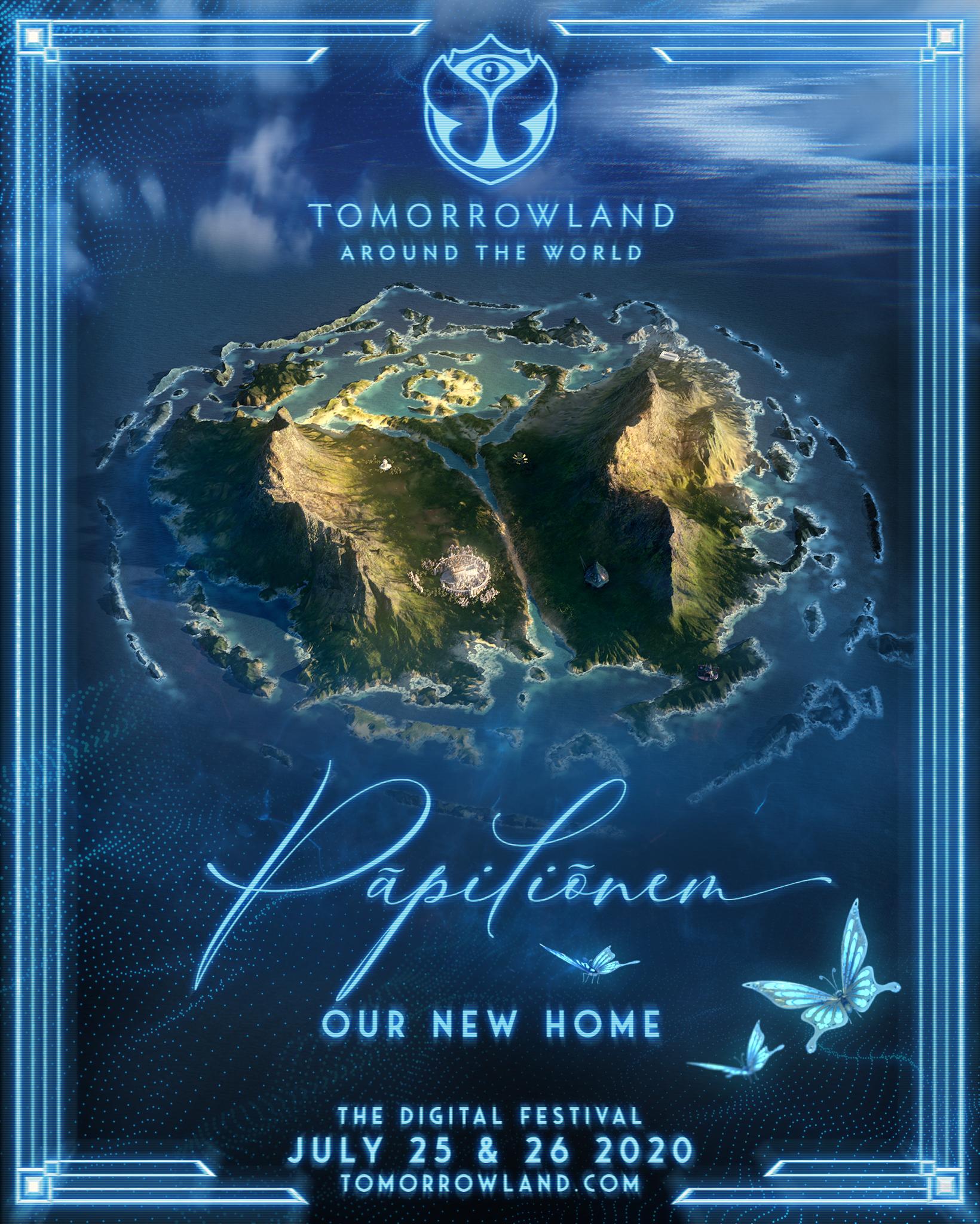 Tomorrowland Around the World - Pāpiliōnem - 1